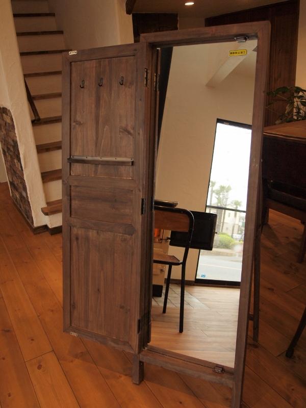 木製 鏡&キーケース