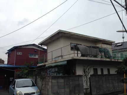 解体前の建物