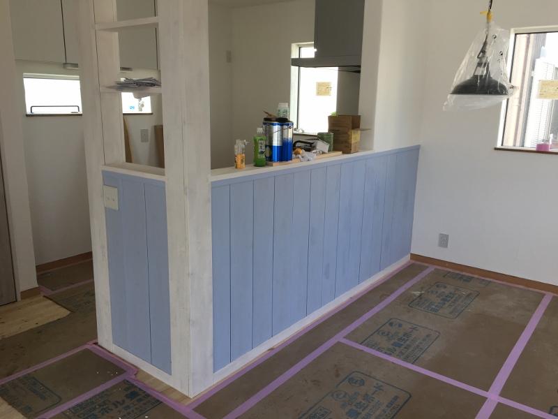 『漁師の家』まもなく完成です!!