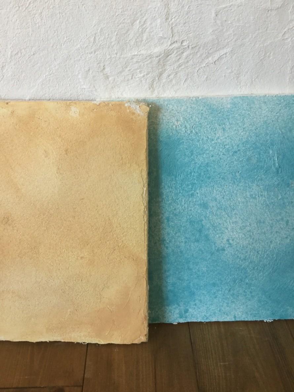 色つき漆喰