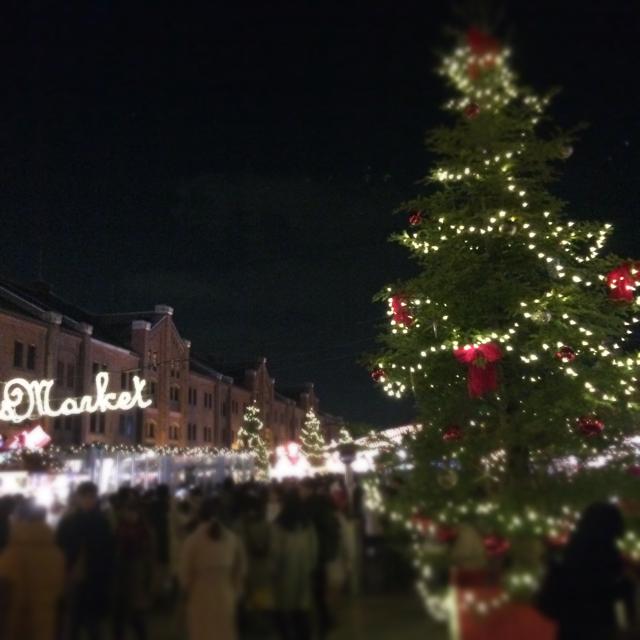横浜赤レンガ倉庫 クリスマスマーケット2017