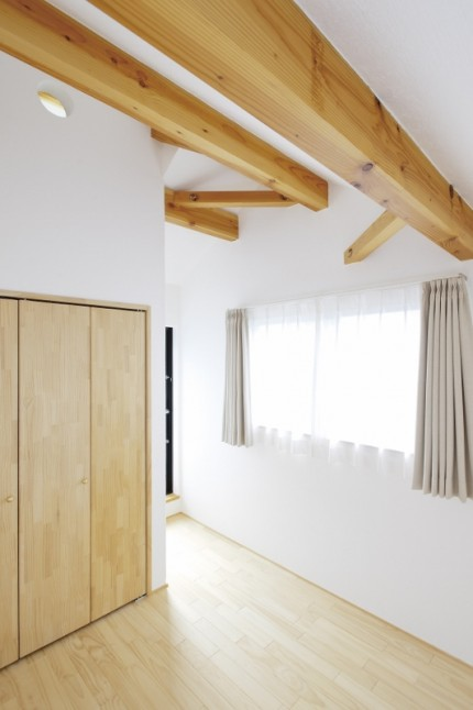 新築住宅施工事例(大和市 立体的な外観が印象的な家 I様邸)