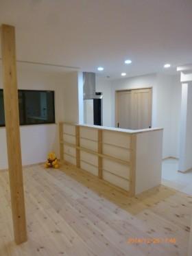新築住宅施工事例(海老名市 ストーブ置き場・吹き抜けのあるS様邸)