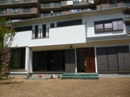 新築住宅施工事例(リビングに和室があり、落着きのある家に仕上りました。)