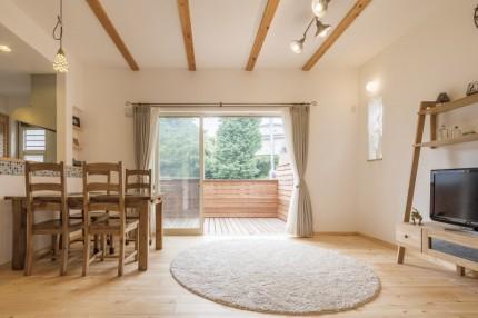 新築住宅施工事例(横浜市 自然と触れ合える家)