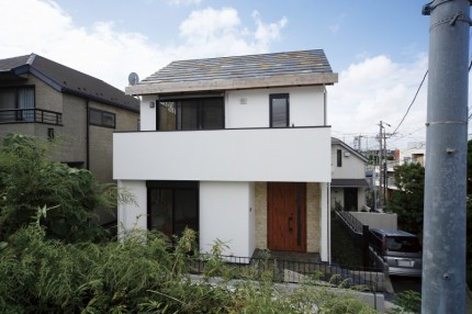 横浜市 愛車を眺められる家