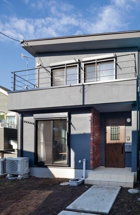 新築施工事例(海老名市 ブルックリンスタイルの家)